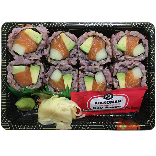(Brown Rice) Alaska Roll