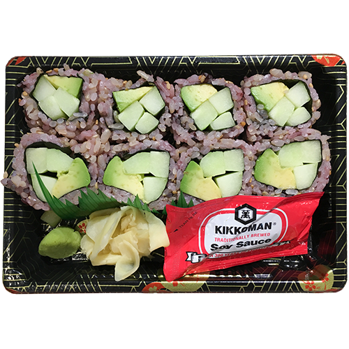 (Brown Rice) Avo Cucumber Roll
