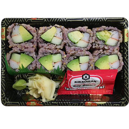 (Brown Rice) California Roll