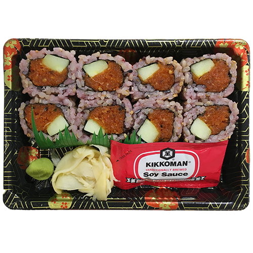 (Brown Rice) Spicy Tuna Cucumber Roll