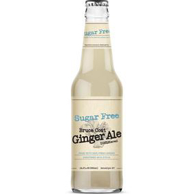 BRUCE COST - GINGER ALE - (Sugar Free) - 12oz