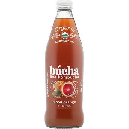 BUCHA - LIVE KOMBUCHA (Blood Orange) - 16oz