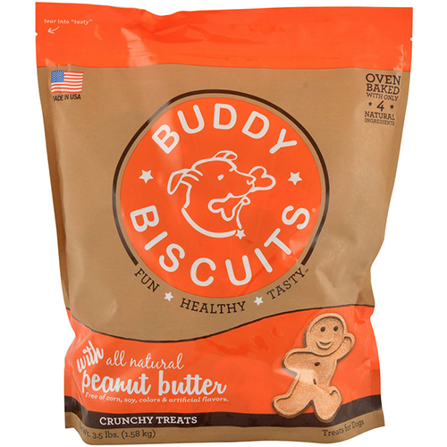 BUDDY BISCUITS - (Peanut Butter) - 3.5LB