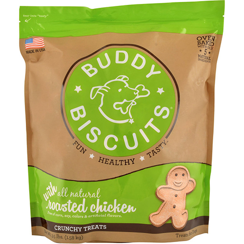 BUDDY BISCUITS - (Roasted Chicken) - 3.5LB