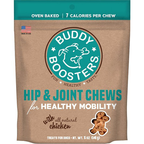 BUDDY BOOSTERS - HIP & JOINT CHEWS FOR HEALTHY MOBILITY - 5oz