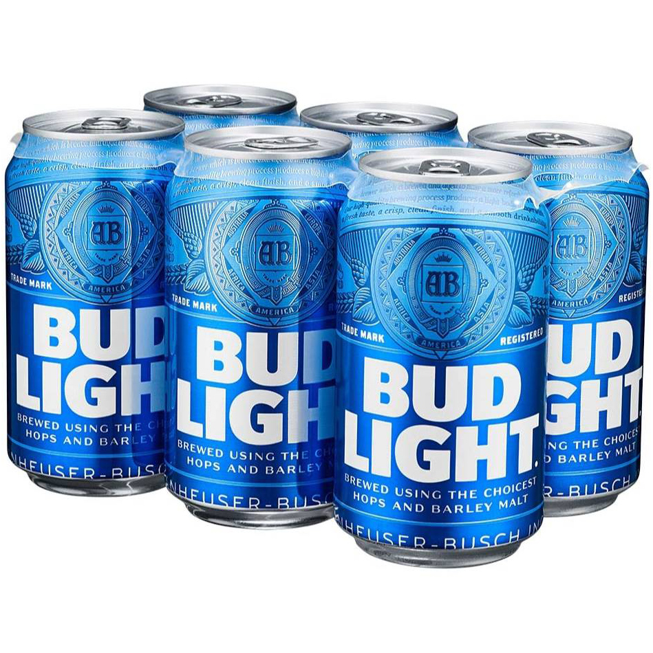 BUD LIGHT - (CAN) - 12oz(6PK)