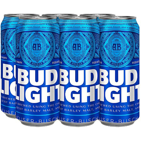 BUD LIGHT - (CAN) - 16oz(6PK)