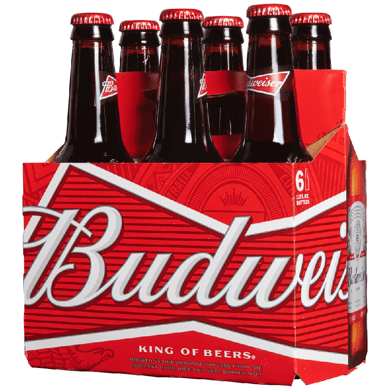 BUDWEISER - (Bottle) - 12oz(6PK)