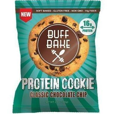 BUFF BAKE - PROTEIN COOKIE - (Classic Chocolate Chip) - 2.82oz