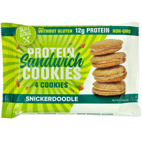 BUFF BAKE - PROTEIN SANDWICH COOKIES - (Snickerdoodle) - 1.79oz