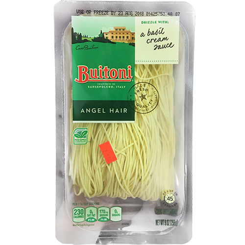 BUITONI - ANGELHAIR - NON GMO - 9oz