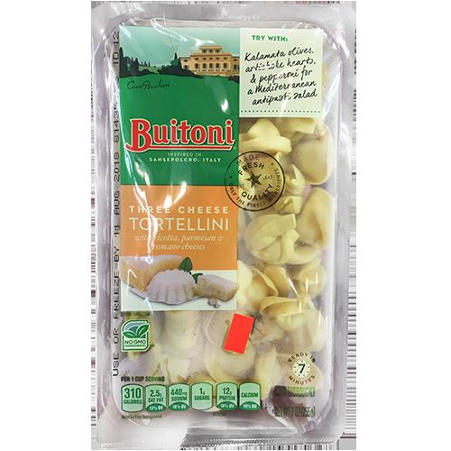 BUITONI - TRIPLE CHEESE TORTELLINI - NON GMO - 9oz