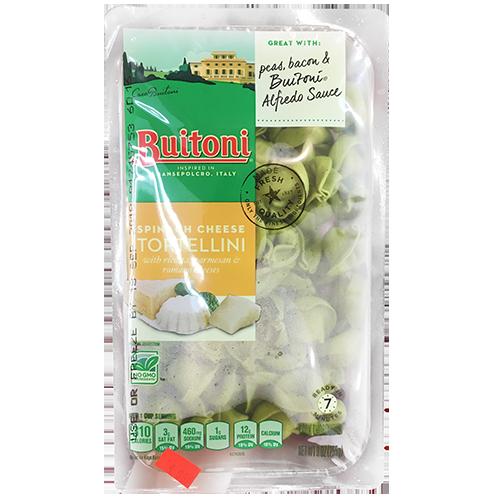 BUITONI - SPINACH CHEESE TORTELLINI - NON GMO - 9oz