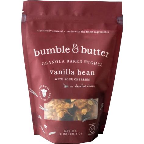 BUMBLE & BUTTER - GRANOLA BAKED WITH GHEE (Vanilla Bean) - 8oz
