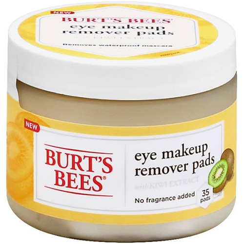 BURT'S BEES - EYE MAKEUP REMOVER PADS - 35PADS
