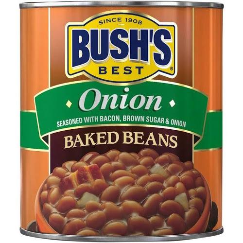 BUSH'S - BAKED BEANS - (Onion) - 16oz