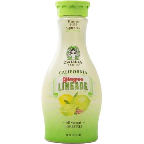 CALIFIA - CALIFORNIA GINGER LIMEADE - 48oz