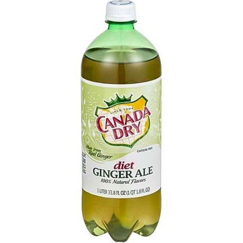 CANADA DRY - DIET GINGER ALE - 1L
