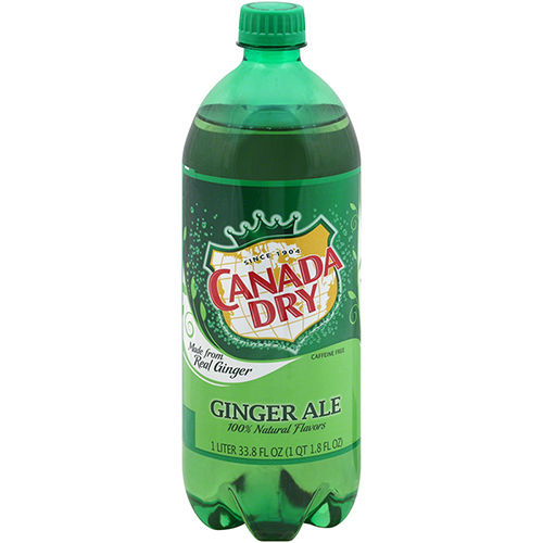 CANADA DRY - GINGER ALE - 1L