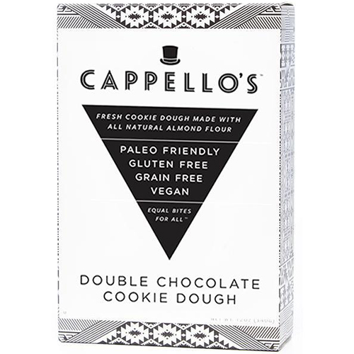 CAPPELLO'S - DOUBLE CHOCOLATE COOKIE DOUGH - 6oz