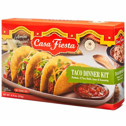 CASA FIESTA - TACO DINNER KIT - 9.75oz