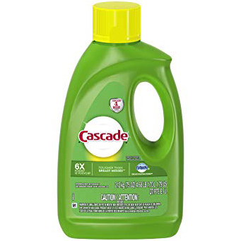 CASCADE - DISHWASHER DETERGENT - (6X Tougher Than Greasy Messes) - 75oz