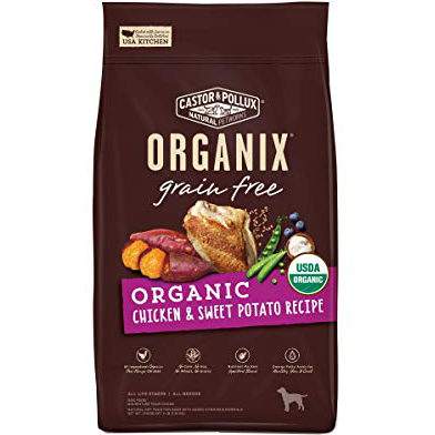CASTOR & POLLUX - ORGANIX GRAIN FREE - (Chicken & Sweet Potato Recipe) - 4LB