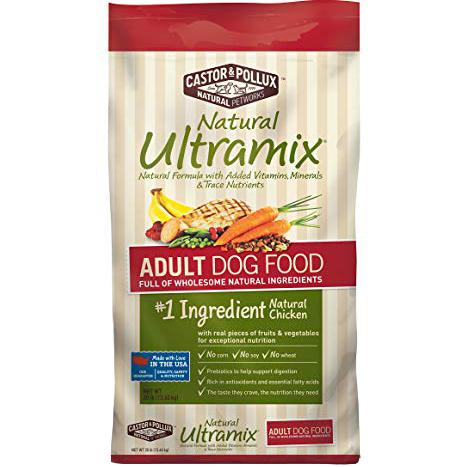 CASTOR&POLLUX - NATURAL ULTRAMIX - (Adult Dog Food) - 5.5LB