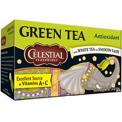 CELESTIAL - GREEN TEA - (Antioxidant) - 20bags