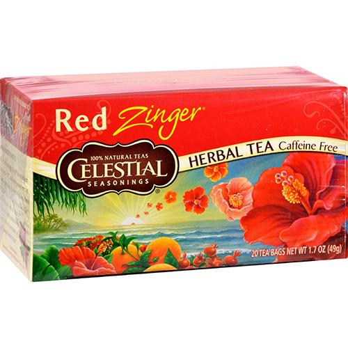 CELESTIAL - HERBAL TEA - (Red Zinger | Caffeine Free ) - 20bags