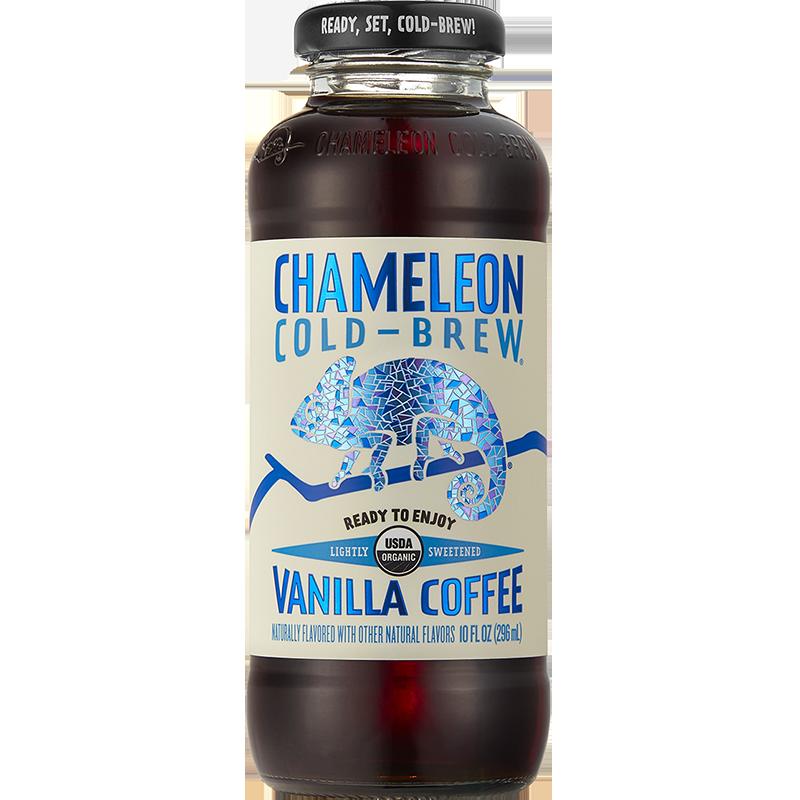 CHAMELEON - COLD BREW - (Vanilla Coffee) - 10oz