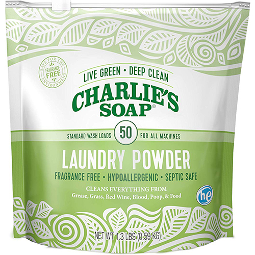 CHARIE'S SOAP - LAUNDRY POWDER - 2.64oz