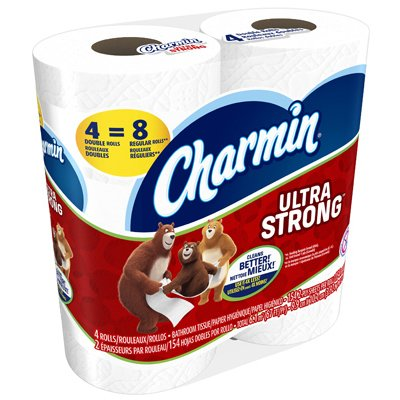 CHARMIN - ULTRA STRONG - 4 ROLLS
