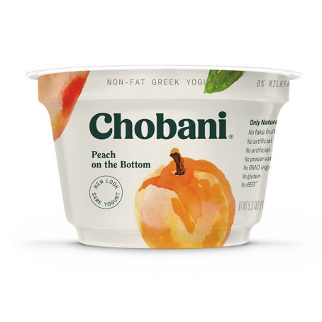 CHOBANI - (Peach) - 5.3oz