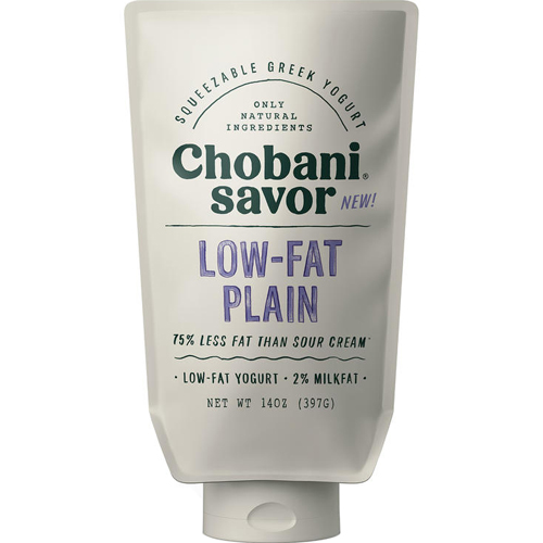 CHOBANI - SAVOR - LOW FAT FLAIN - 14oz