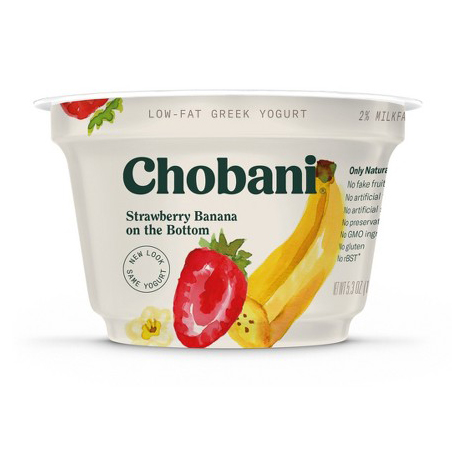 CHOBANI - (Strawberry & Banana) - 5.3oz