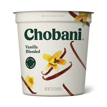 CHOBANI - (Vanilla) - 32oz