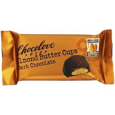 CHOCOLOVE - XOXO - (Almond Butter Cups | Dark Chocolate) - 1.2oz