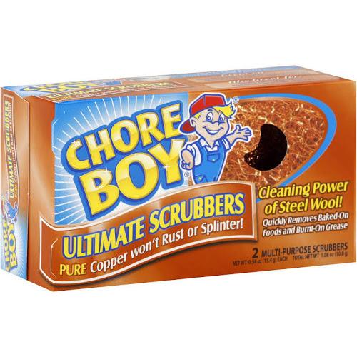 CHORE BOY - SCRUBBERS - 2PCS