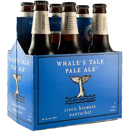 CISCO BREWERS NANTUCKET - WHALE'S TALE PALE ALE - (Bottle) - 12oz(6PK)