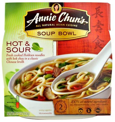 CJ - ANNIE CHUN'S - HOT & SOUR - SOUP BOWL - 5.7oz