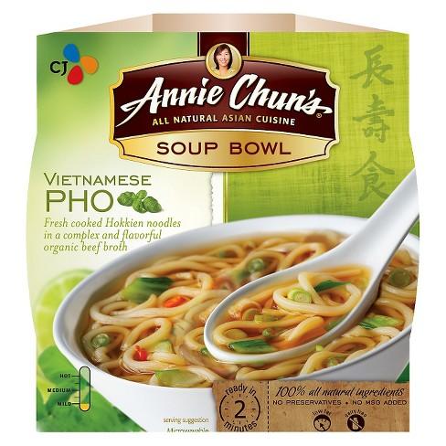 CJ - ANNIE CHUN'S - PHO - SOUP BOWL - NON_GMO - VEGAN - 5.9oz