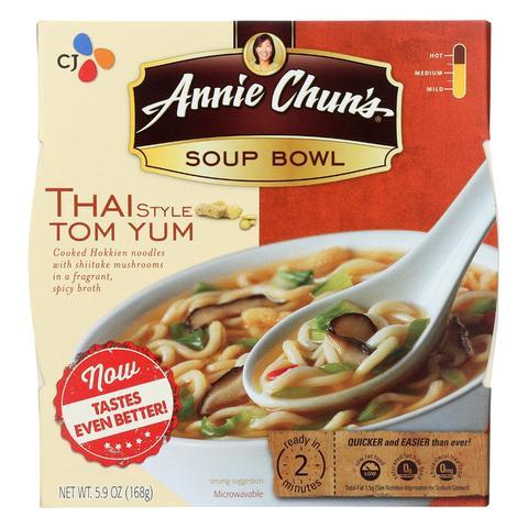 CJ - ANNIE CHUN'S - TOM YUM - SOUP BOWL - 5.9oz
