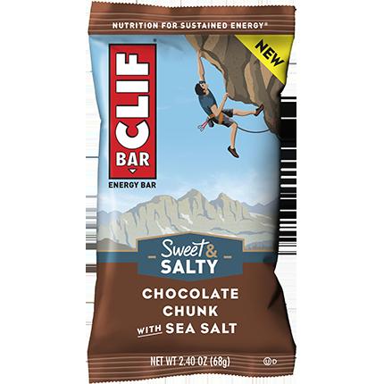 CLIF BAR - (Chocolate Chunk with Sea Salt) - 2.4oz