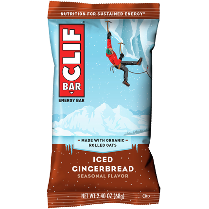 CLIF BAR - (Iced Gingerbread) - 2.4oz