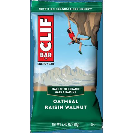 CLIF BAR - (Oatmeal Raisin Walnut) - 2.4oz