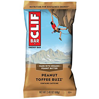 CLIF BAR - (Peanut Toffee Buzz) - 2.4oz
