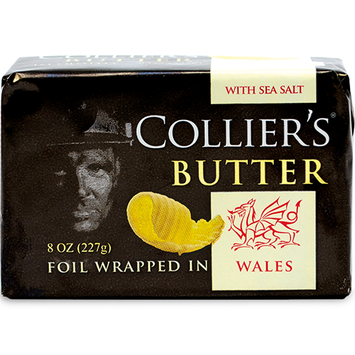 COLLIER'S BUTTER - (Sea Salt) - 8oz