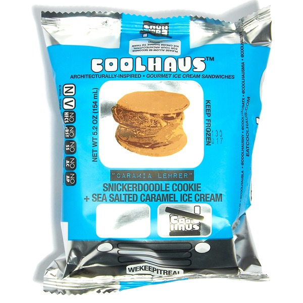COOLHOUS - CARAMIA LEHRER (Snickerdoodle Cookie + Sea Salted Caramel Ice Cream) - 5.8oz