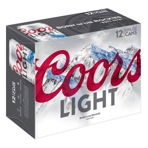 COORS LIGHT - CAN - 12oz (12pck)